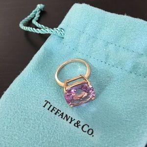 Tiffany Sparkler Amethyst Rose Gold Size 5